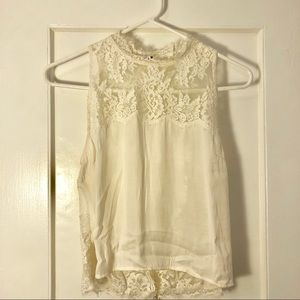 BRAND NEW! Free People Lace Open Back Tank